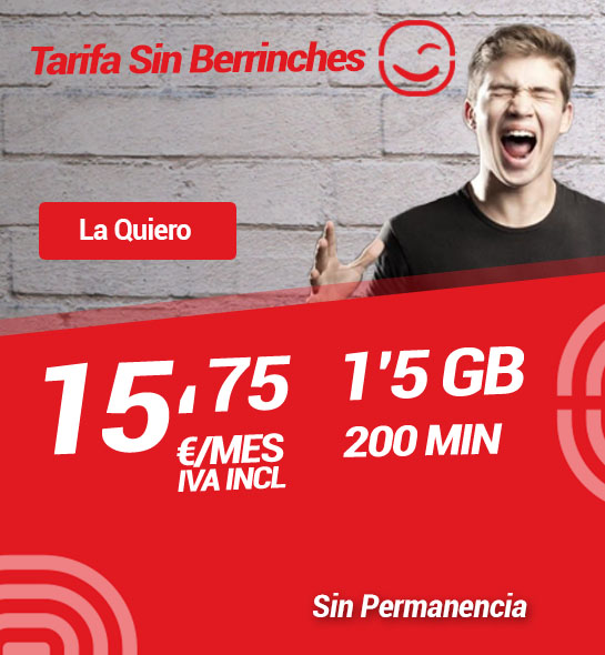 tarifas redmovil